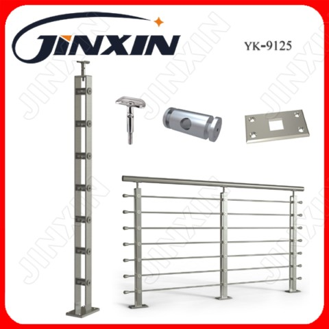 Stainless Steel Solid Rod Handrail(YK-9125)