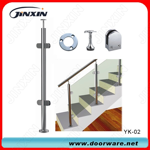Stainless Steel Glass Handrail Balustrade(YK-02)