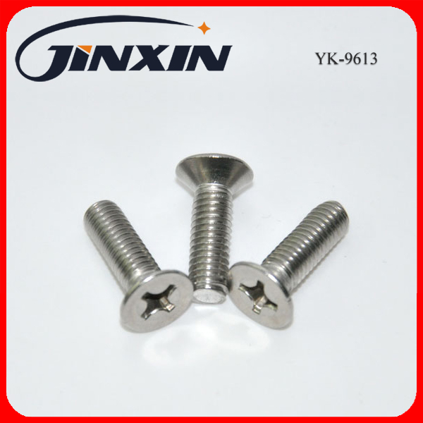 Cross recessed countersunk head screws(YK-9613)
