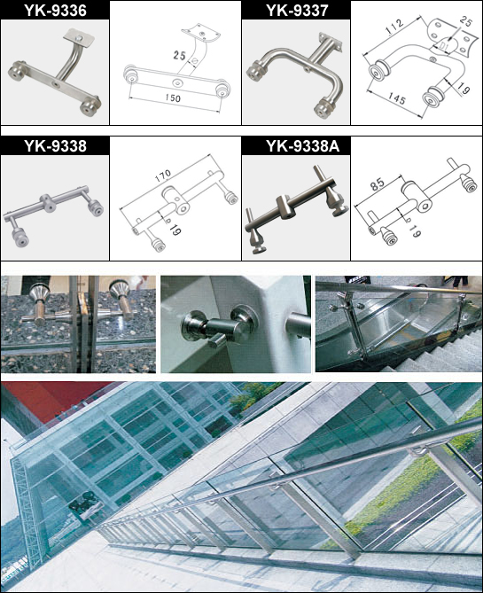 Handrail Glass Clamp 1