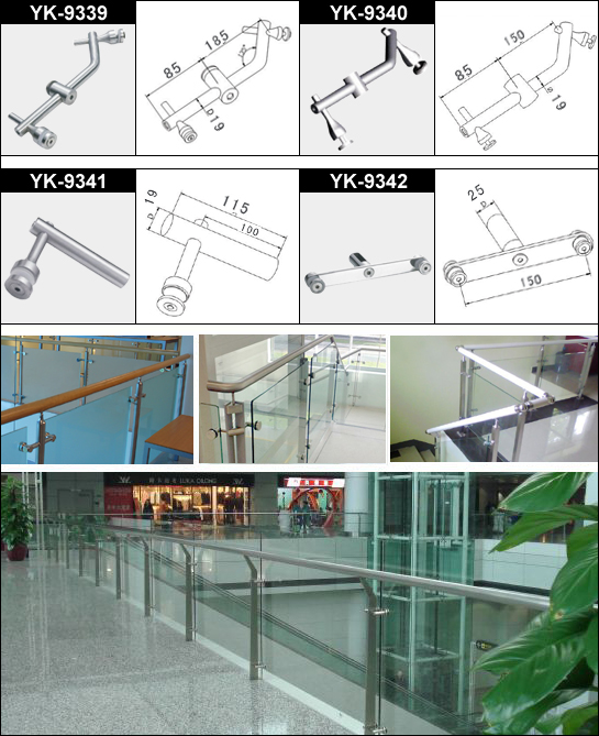 Handrail Glass Clamp 2