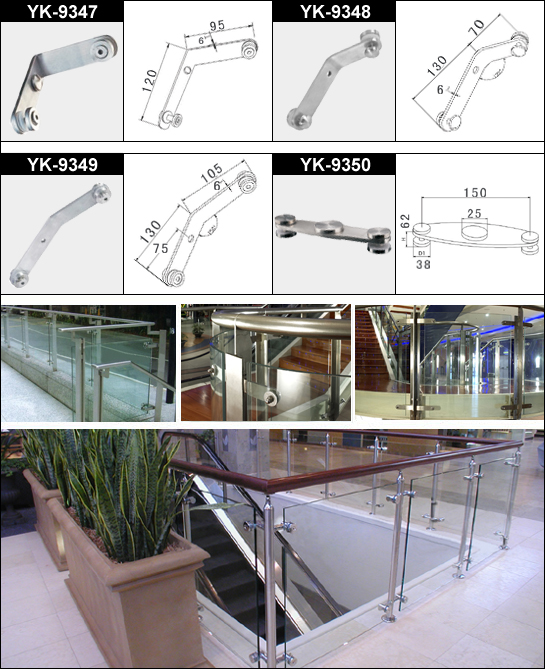 Handrail Glass Clamp 4