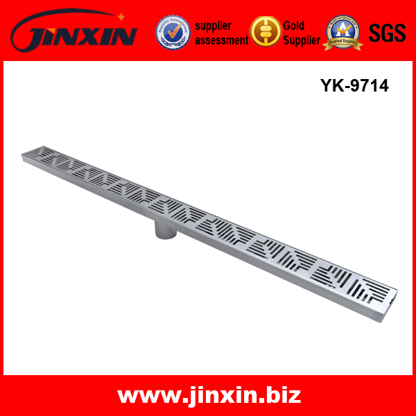 Stainless Steel Public Long Floor Drain