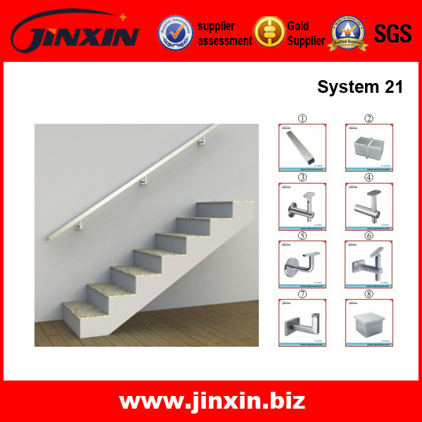 Stair Square Grad Railing System