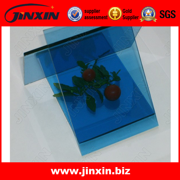 Tempered Safety Glass Panel(Blue)