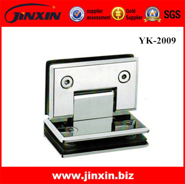 (New)90 Degree Glass To GLass Hinge YK-2009