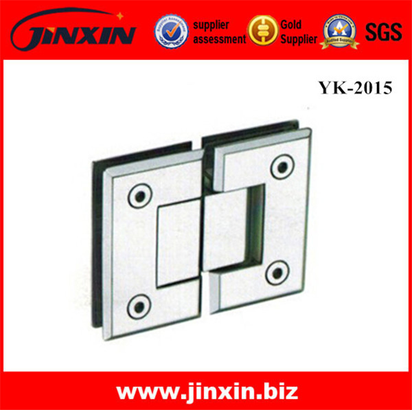 (New) 180 Degree Glass To Glass Hinge YK-2015