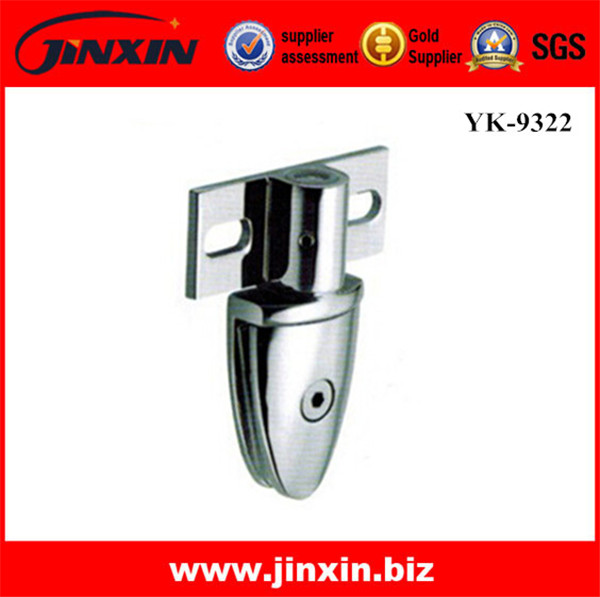 (New)Stainless Steel Glass Clamp/Clip YK-9322