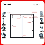 Sliding Door System(YK-A015)