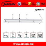 Round Pipe Guardrail System